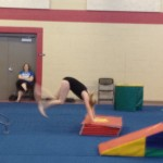 Zo doing some tumbling