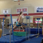Netter doing more gymnastics