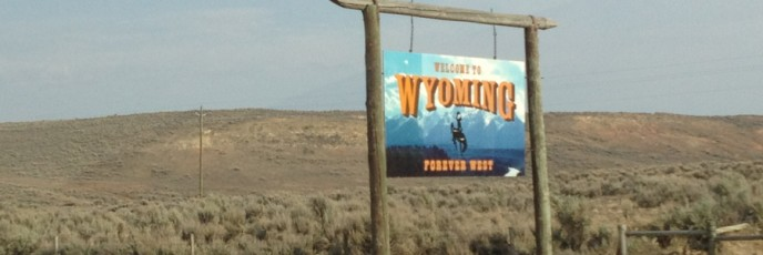 We made it to Wyoming