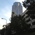 My walk to the Fox Plaza, otherwise known as the Nakatomi Tower.
