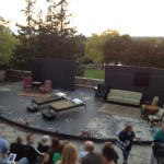 The set of the play we were at