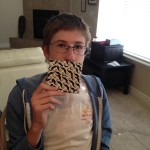 I have a mustache, yes I do.  I have a mustache (duct tape wallet from Antoinette), how 'bout you?
