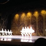 The dancers in the performance. Only end of Act 2 and all of Act 3, they did not get to see the end where all the swans are hunted down and cooked up