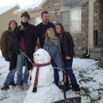 The newest member of the family, and will probably not be here next week, Hird Snowman, the coldest guy in the fam