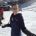 Elise took the kids up skiing this past week, and Netter loved it!