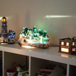 We are starting to do a fiber optic Christmas village, and we have a few buildings, and will get more, but for right now, this is the village