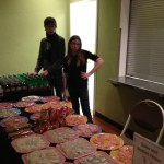 We got to make some of the treats and man the concession stand at a benefit concert for the Food and Care Coalition in Provo.  They provide meals, medical, psychological, dental care, etc. for the homeless around UT Valley.