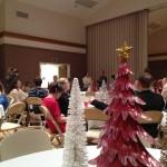 Ward Christmas party up at the church building