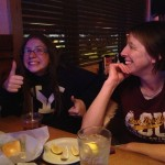 While we were out at Texas Roadhouse, Netter gives her approval